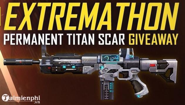 Cách nhận miễn phí skin Titan SCAR trong Free Fire