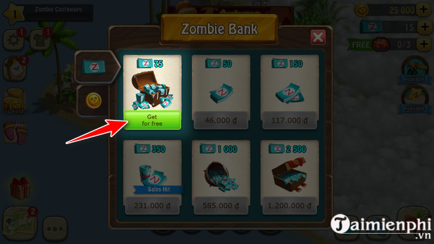 how to play zombie game castaways 4