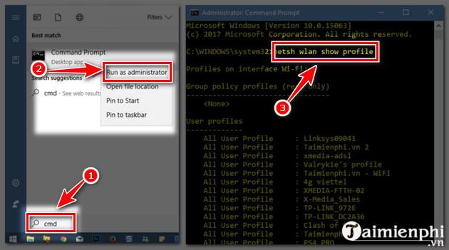 Xem mật khẩu wifi, hiện password wifi đã lưu, kết nối trên máy tính và cách xóa