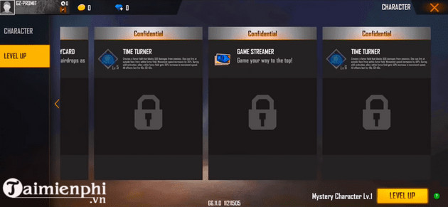 free fire ob25 new year snowelle and chrono 3