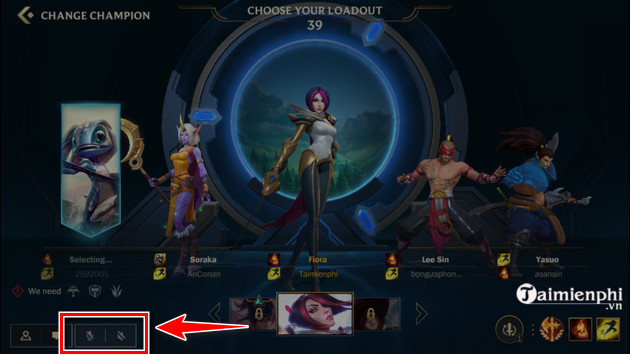 How to start voice chat in alliance to group 3