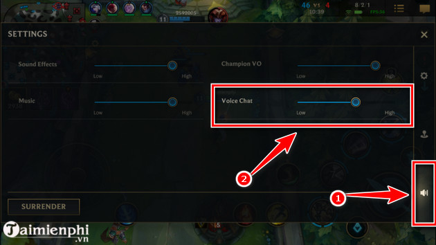How to start voice chat in alliance to master 5