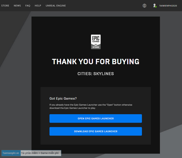 epic games store tang mien phi game cities skylines 4
