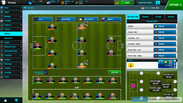 link ear soccer manager 2021 for android ios and pc 2