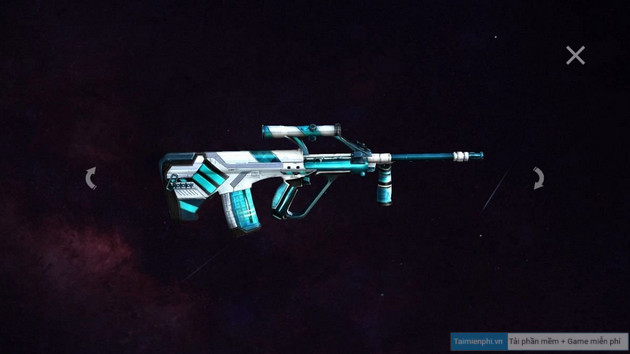how to change skin aug winterlands 2020 in free fire 3