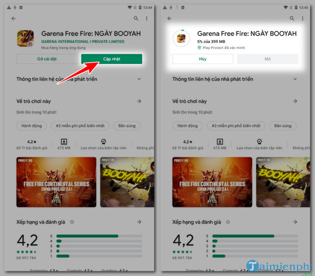 how to catch up and play free fire ob25