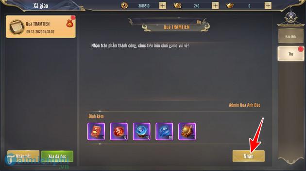 Gift Code Trảm Tiên Quyết mới nhất