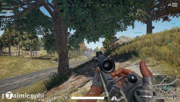 Cách xác định vị trí đối thủ bằng tiếng súng trong PUBG Mobile