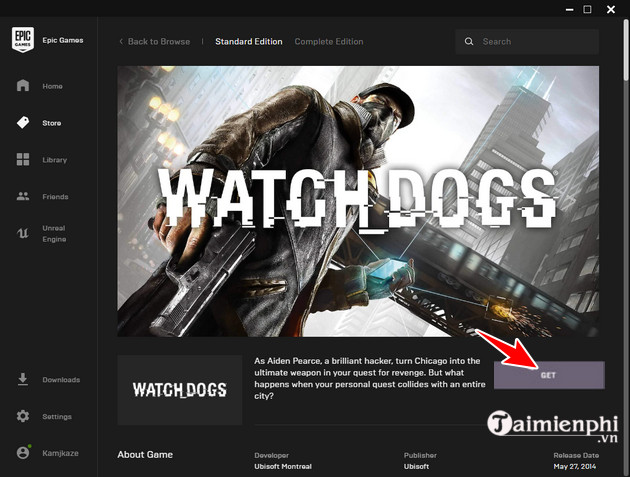 nhan mien phi watch dogs tren epic games chi bang cu click 7