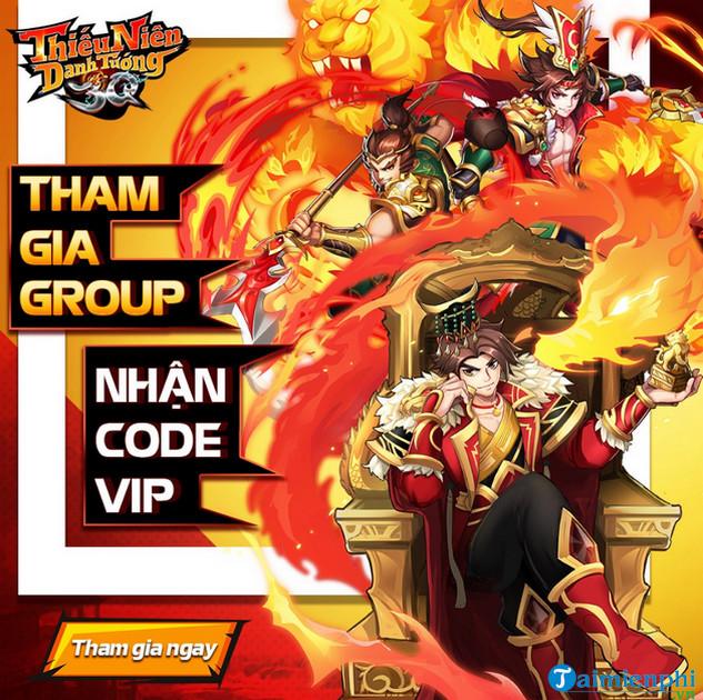 Code Thiếu Niên Danh Tướng 3Q 2