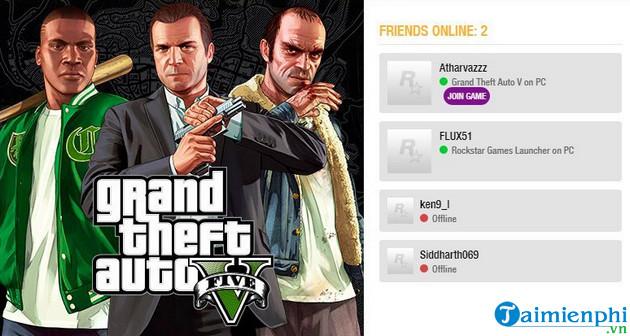 Cách chơi Grand Theft Auto 5 Online với bạn bè 3