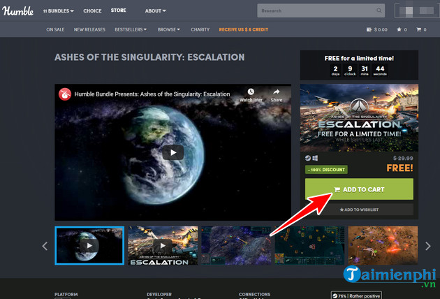humble bundle tang mien free game ashes of the singularity 3