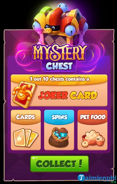 Cách kiếm Joker Card trong game Coin Master