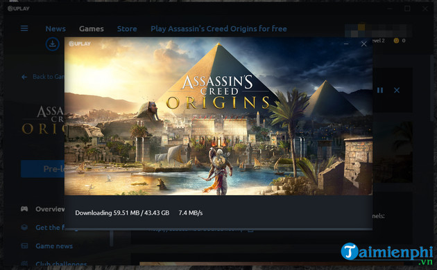 How to play and play assassin creed origins non-Vinh Vien Park 7