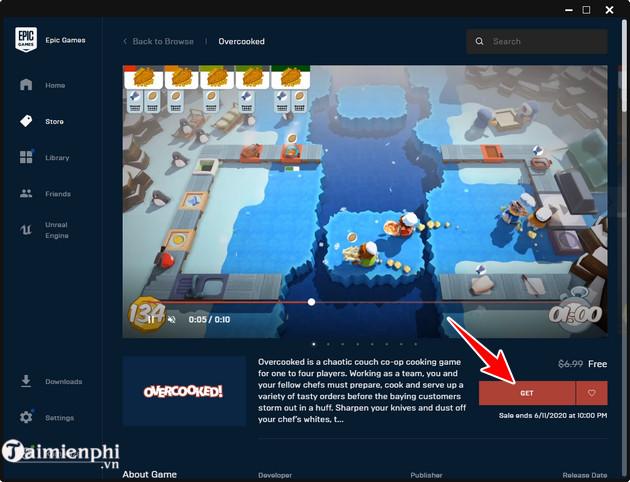 Cách tải và chơi miễn phí game Overcooked