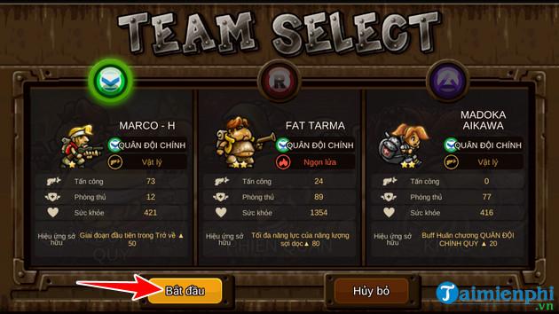 Cách tải và chơi Metal Slug Infinity, Rambo Lùn Mobile