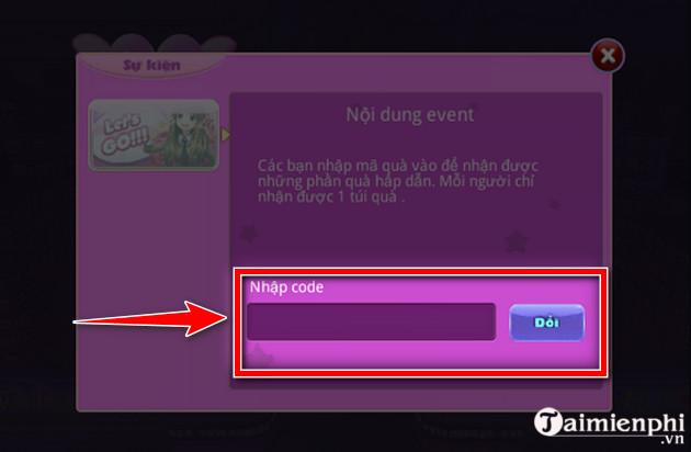 Code game Au Mobile VTC mới nhất 3