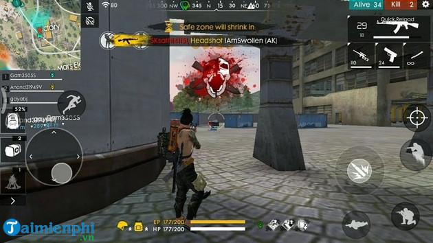 Mẹo và thủ thuật chơi Free Fire chinh phục mọi bản đồ