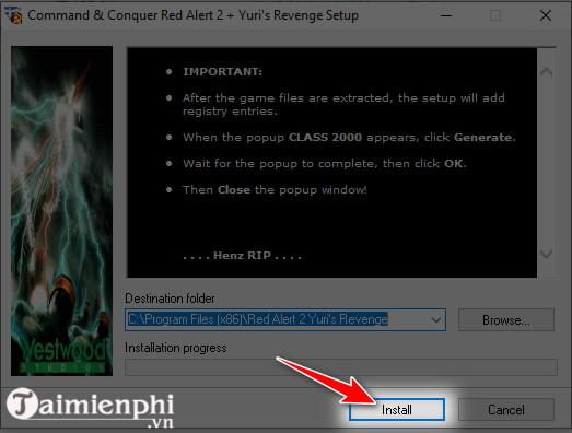 Hướng dẫn tải và cài game Red Alert 2 trên Windows 10 4
