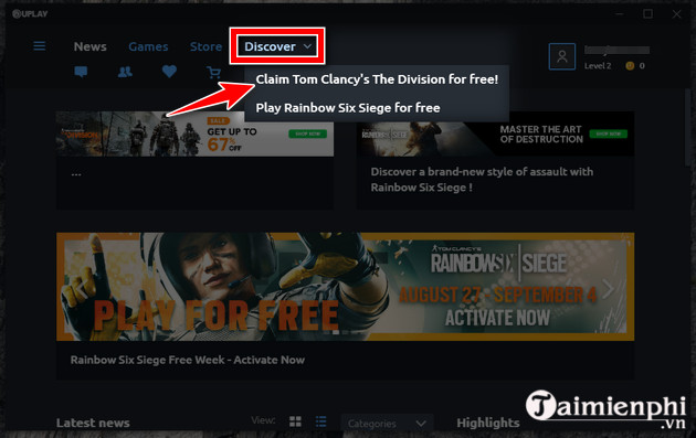 nhan mien phi tom clancy s the division game ban sung the gioi mo 3