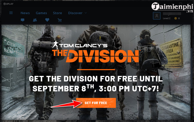 nhan mien phi tom clancy s the division game ban sung the gioi mo 4