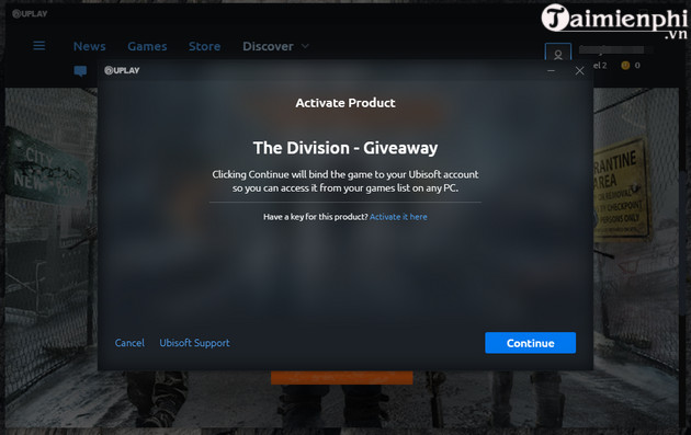 nhan mien phi tom clancy s the division game ban sung the gioi mo 5