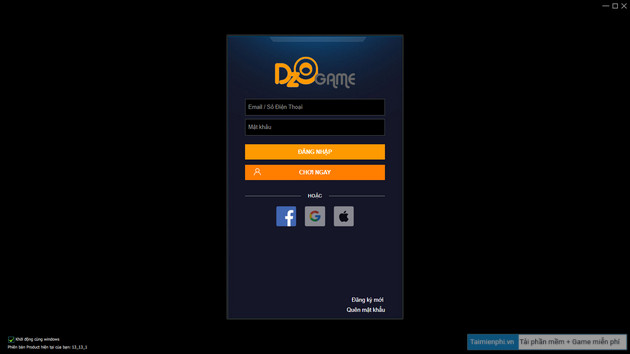 Download and install dzolauncher on your computer