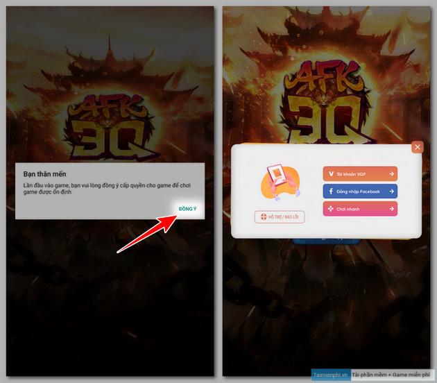 Cách sửa lỗi không vào được game AFK 3Q, bị văng game