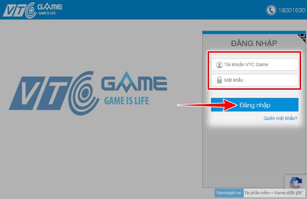 Cách chuyển tài khoản Đột Kích VTC Game sang VTC Online