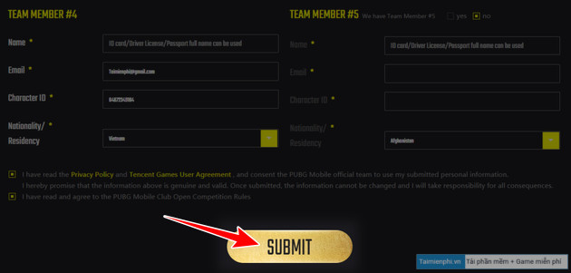 how to sign up for pubg mobile club open buy xuan 2021 pmco 4