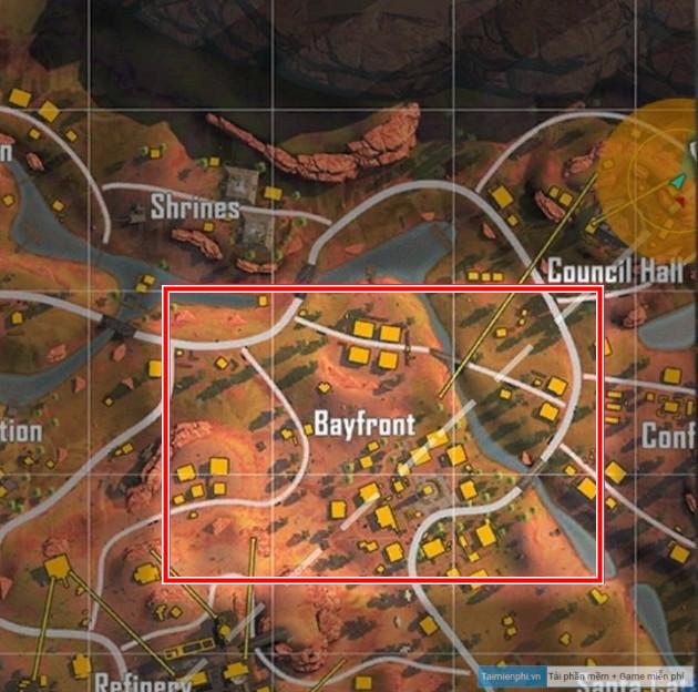 diem roi map dao sa mac garena free fire ob26