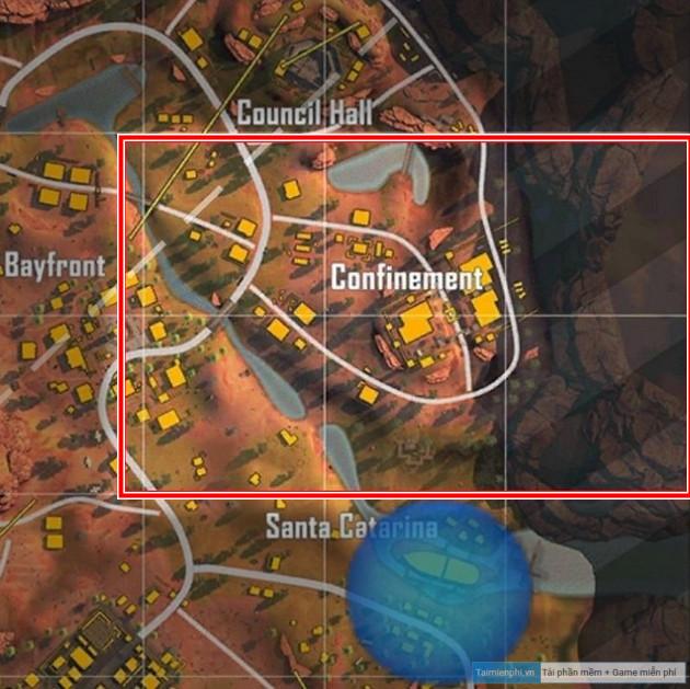 diem ha canh map dao sa mac free fire ob26
