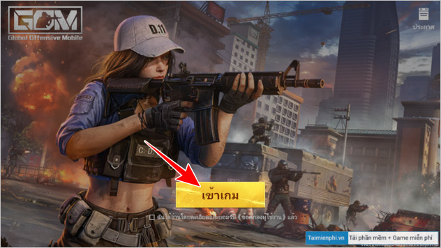 cach choi game global offensive mobile tren android