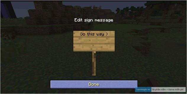 Cách chế tạo và sử dụng Bảng Hiệu trong Minecraft