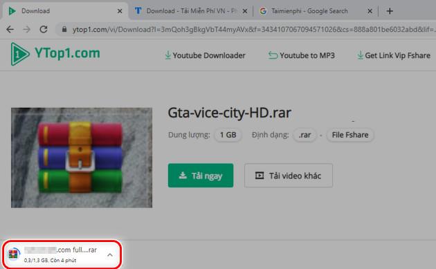 Cách get link Fshare VIP tốc độ cao bằng Ytop1