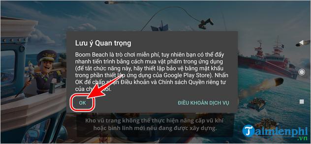Cách tải và chơi Boom Beach tại Việt Nam