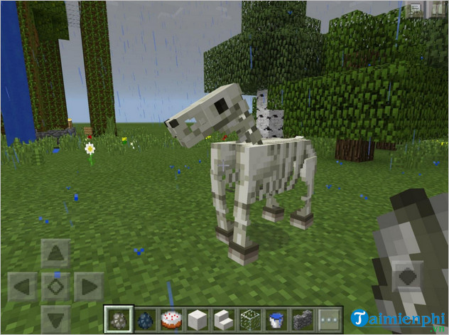 Use of Yenua in Minecraft