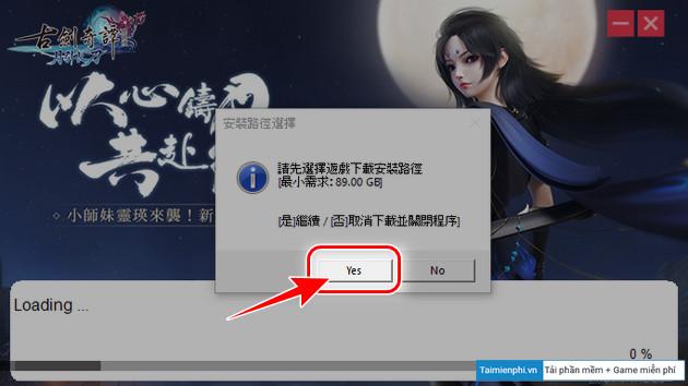 Cách chơi Cổ Kiếm Kỳ Đàm Online bản Taiwan