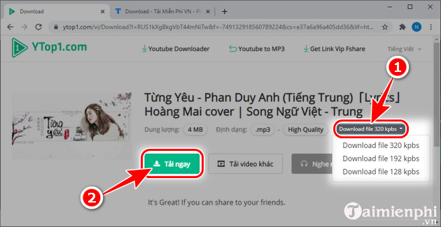 download youtube mp3 ytop1