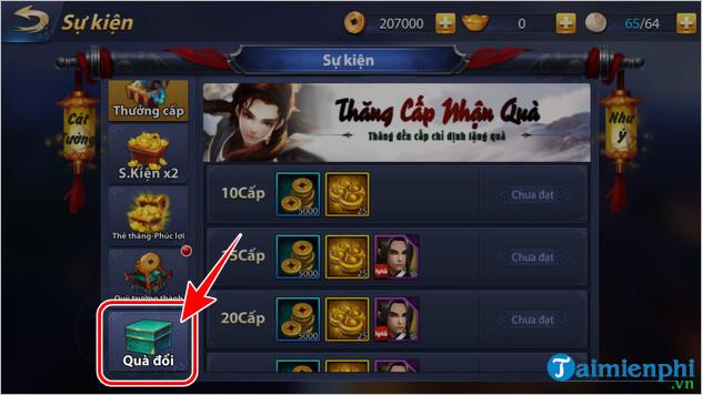 giftcode giang ho truyen ky mobile