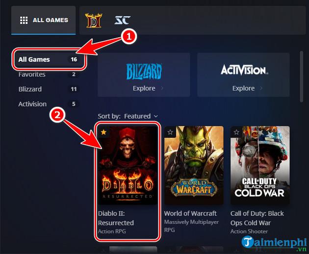 tai Diablo II Resurrected Open Beta tren battle net