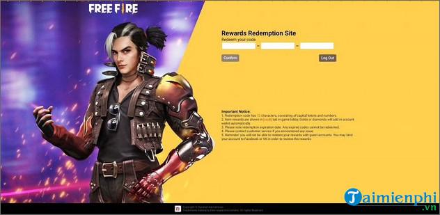 redeem code free fire 10 9 2021 nhan wasteland vault 3