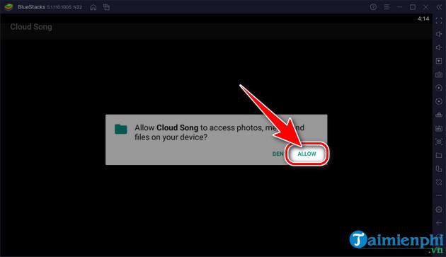 cach choi cloud song van thanh chi ca vng tren pc bang gia lap Android