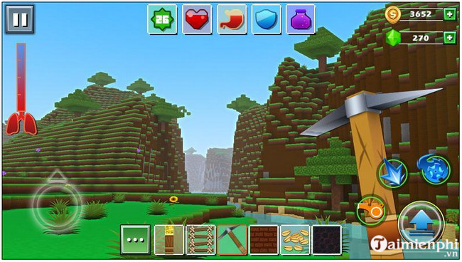 Top 5 tựa game Android miễn phí giống Minecraft