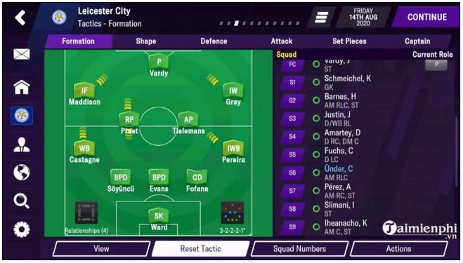 Link tải Football Manager 2021 Mobile mới nhất