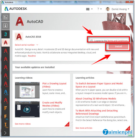 Cách tải và cài đặt AutoCAD 2018