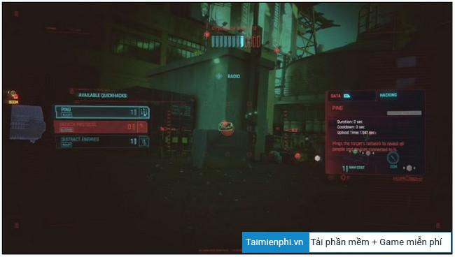 Build Nhan Vat in Cyberpunk 2077