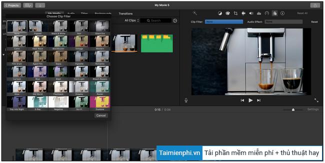 Cách chỉnh sửa video trên Macbook