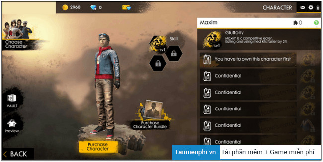 list of tutorials it uses in free fire