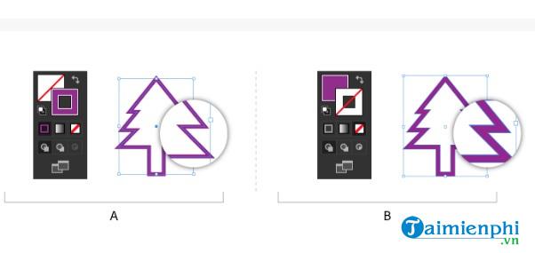 Cách tô màu và thay đổi màu trong Adobe Illustrator 6